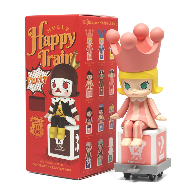Molly Happy Train Mini Series by Kenny Wong : Blind Box