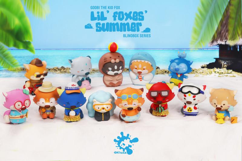 Lil' Foxes Summer Mini Series : Blind Box