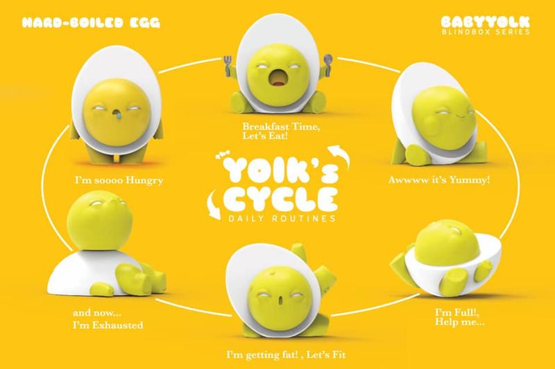 Baby Yolk Original Color Blind Box by Ramarama Studio PRE-ORDER SHIPS NOV 2019
