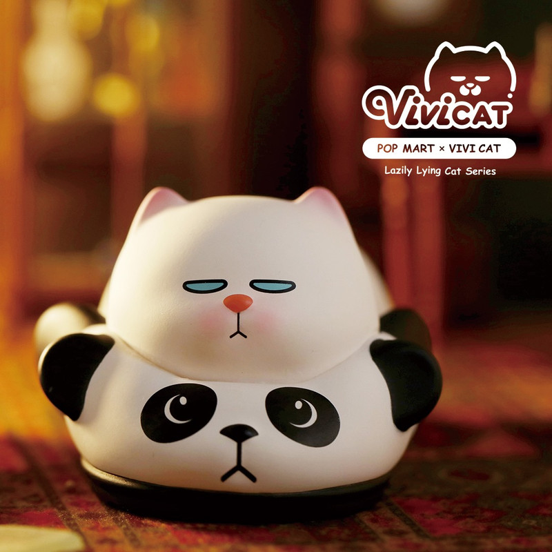 Vivicat Lazily Lying Prone Mini Series : Blind Box