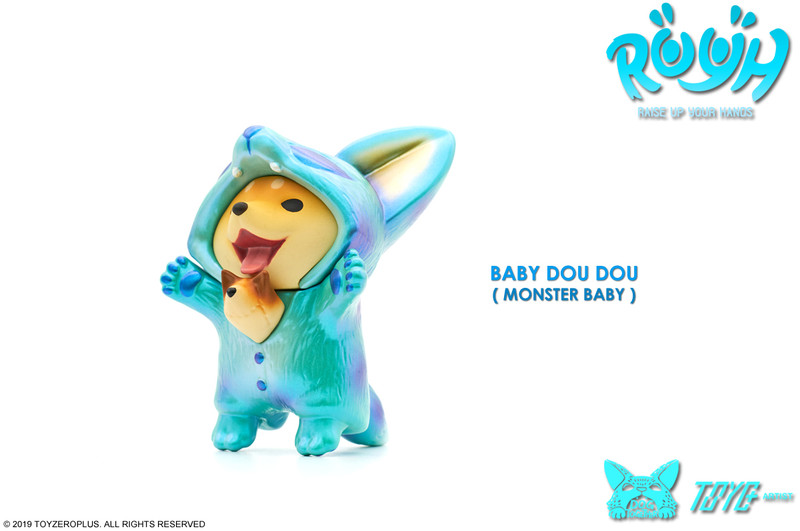 Raise Up Your Hands (R.U.Y.H.) Baby Dou Dou Monster Baby