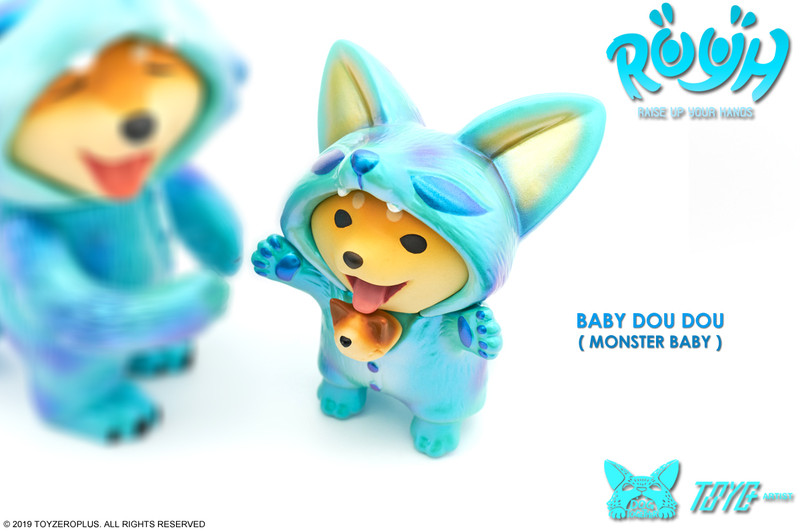 Raise Up Your Hands (R.U.Y.H.) — Baby Dou Dou Monster Baby PRE-ORDER SHIPS OCT 2019