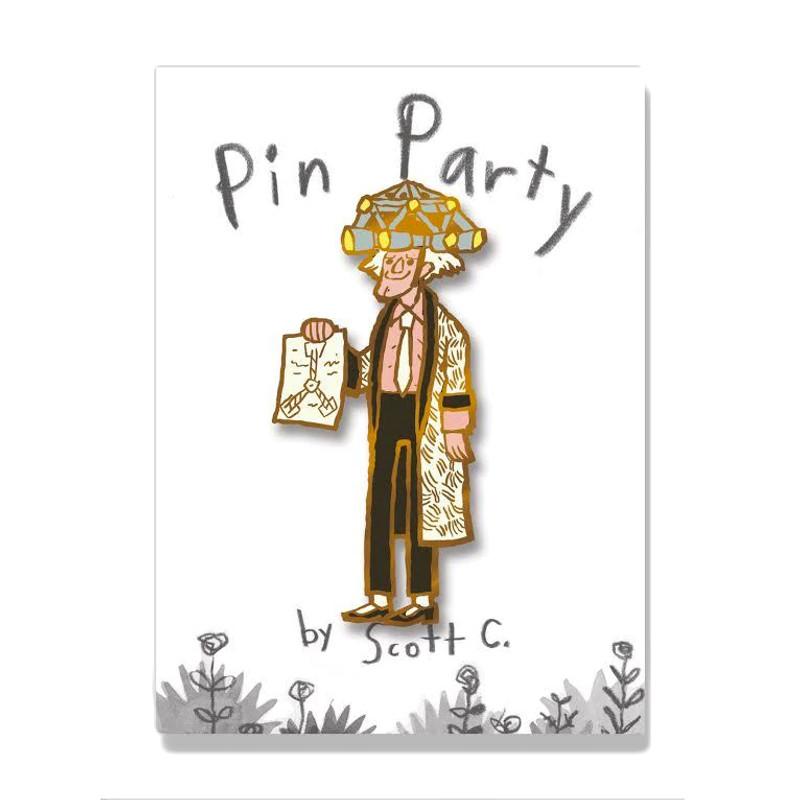 The Doctor Enamel Pin by Scott C.