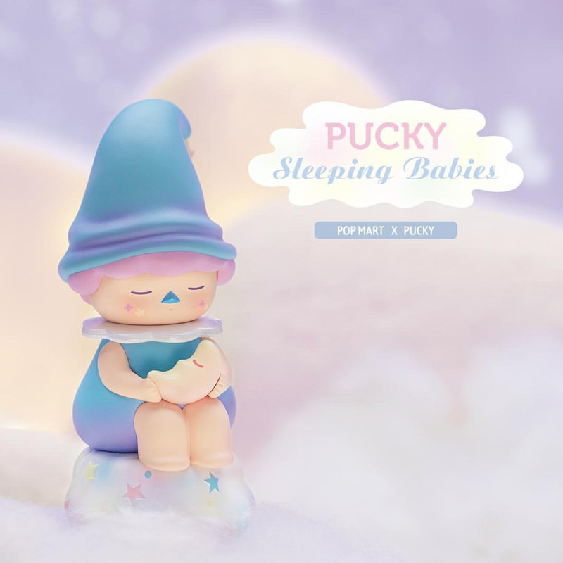 Pucky Sleeping Babies Mini Series : Blind Box PRE-ORDER SHIPS JUL 2020