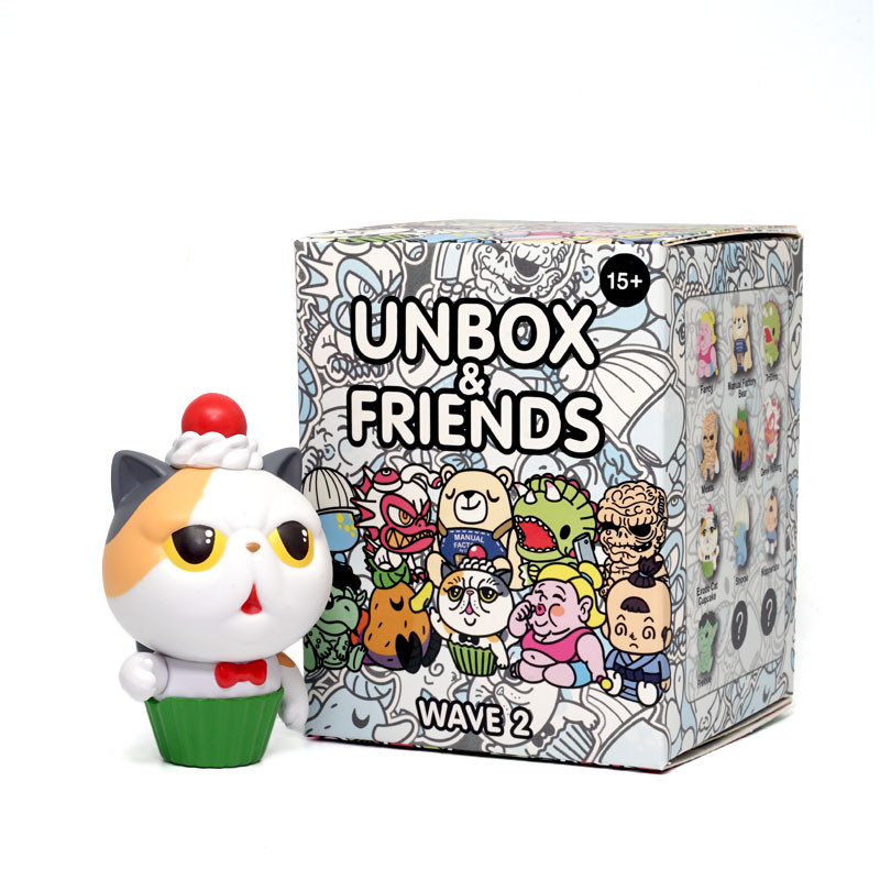 Unbox & Friends Mini Series 2 : Blind Box