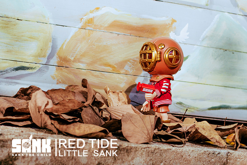 Little Sank Red Tide by Sank Toys PRE-ORDER SHIPS OCT 2019
