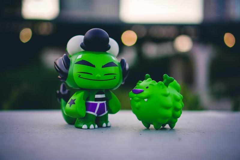 Dragon Boy Super Set Hulky by Martin Hsu