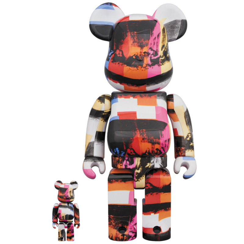 Be@rbrick 400% and 100% : The Last Supper by Andy Warhol