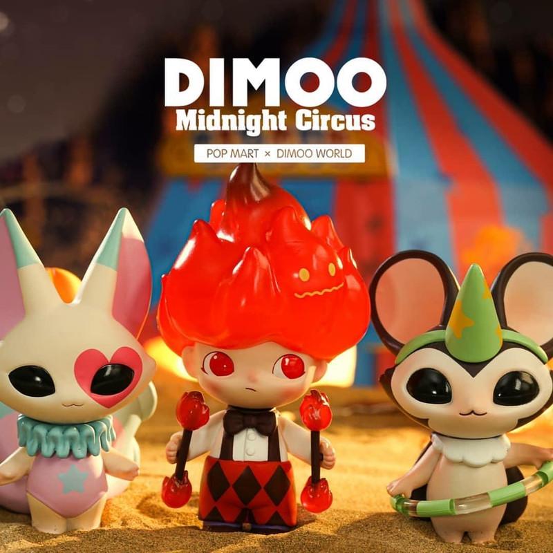 Dimoo Midnight Circus Mini Series by Ayan : Blind Box