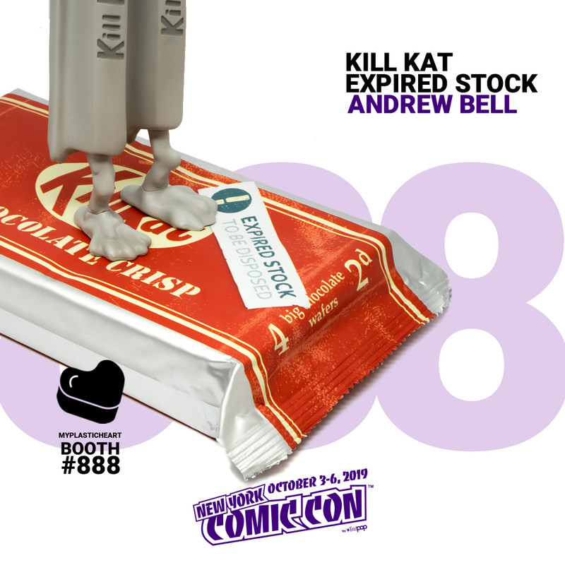 Kill Kat : Expired Stock by Andrew Bell