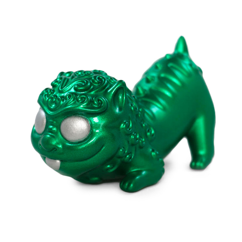 Foo Pup Metallic Green by Reactor88