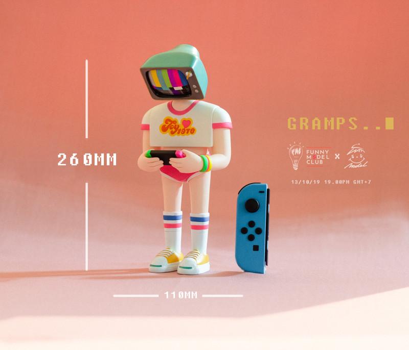 Gramps by Watchara Boonpokkrong PRE-ORDER SHIPS Q3 2020