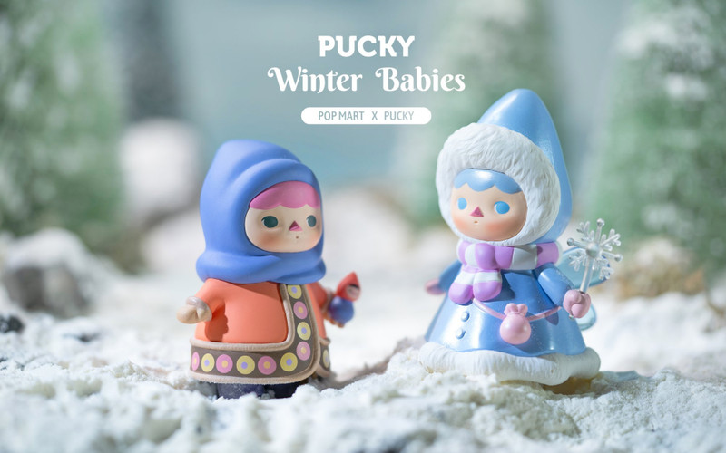 Pucky Winter Babies Mini Series : Blind Box