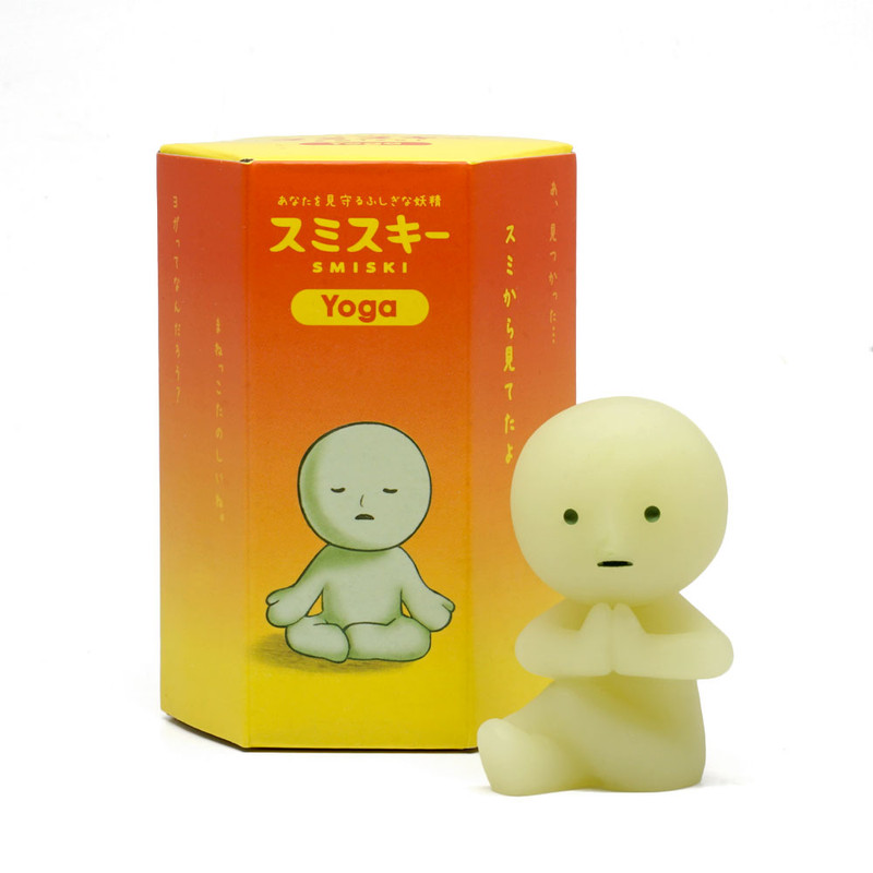 Smiski Glow in the Dark Yoga Series : Blind Box