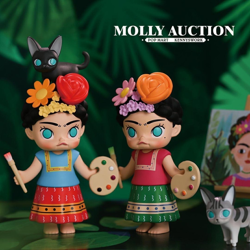 Molly Auction Mini Series by Kenny Wong : Blind Box PRE-ORDER SHIPS DEC 2019