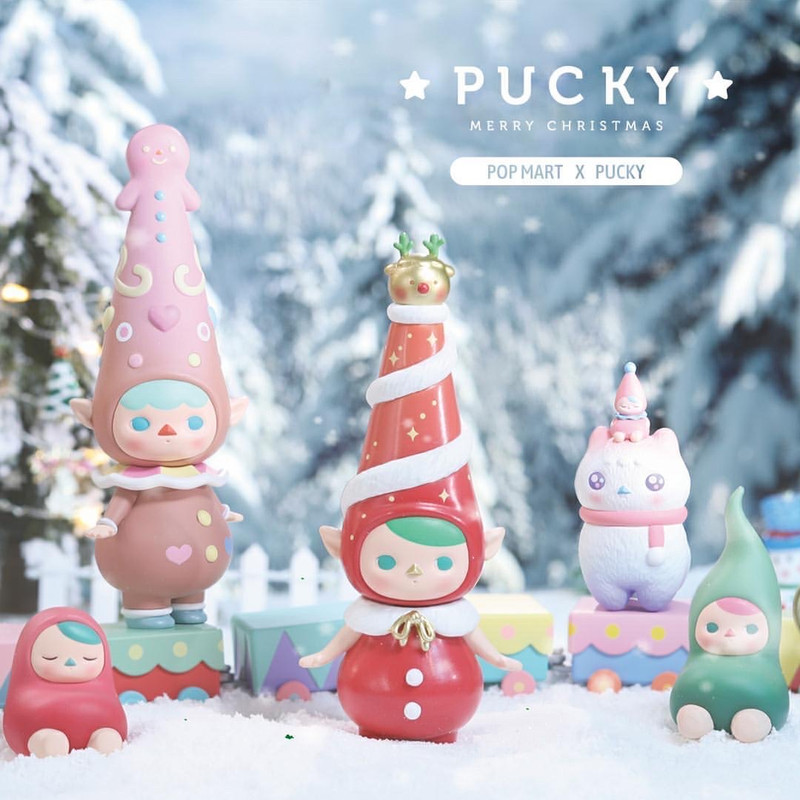 Pucky Christmas Express Set
