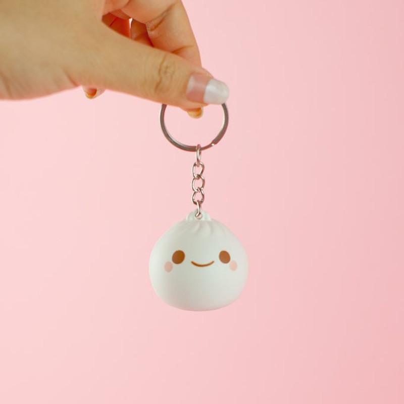 Little B Dumpling Light-Up Keychain