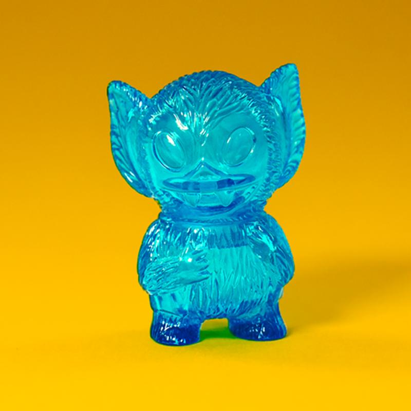 Micro Bat Boy : Clear Blue