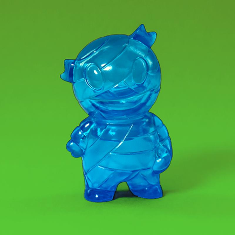 Micro Mummy Boy : Clear Blue