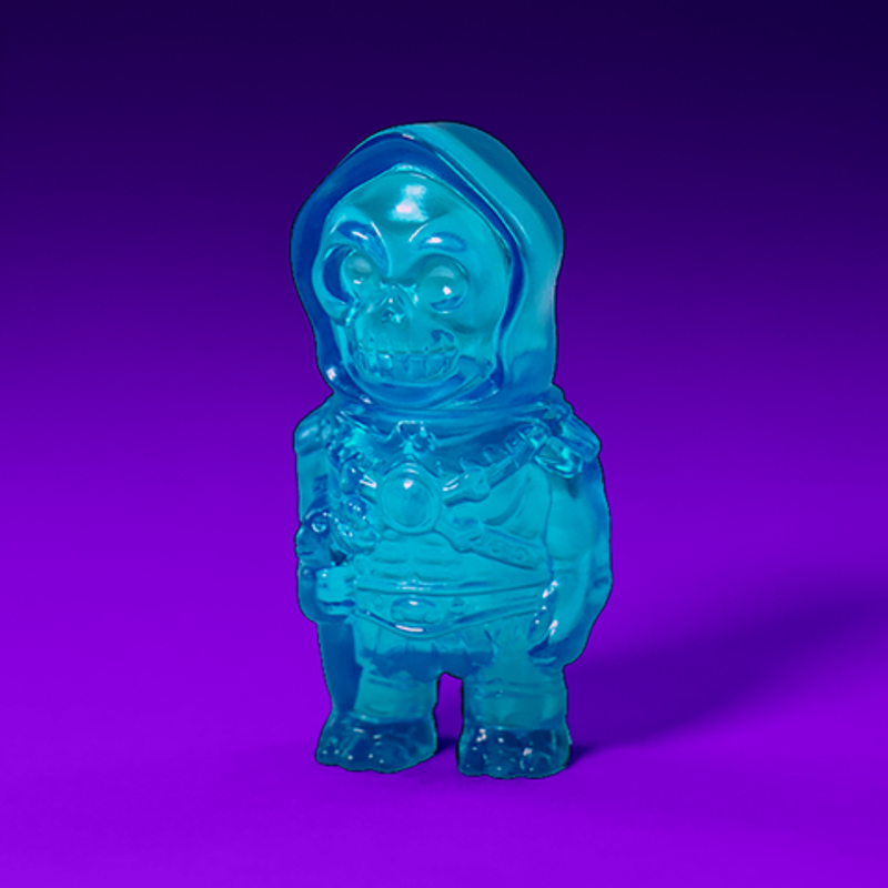 Masters of the Universe Micro Skeletor : Clear Blue
