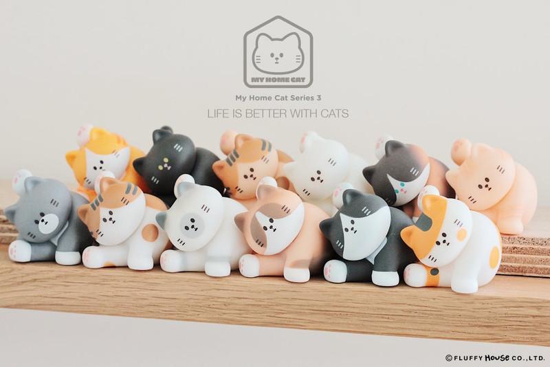 My Home Cat Mini Series 3 : Blind Box