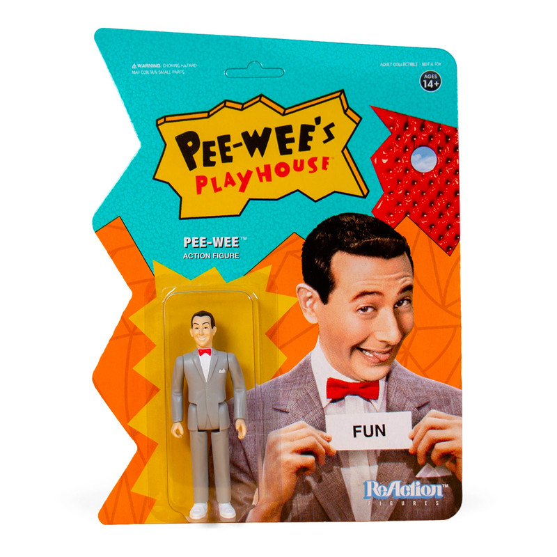 Pee-wee's Playhouse ReAction Figure Pee-wee Herman