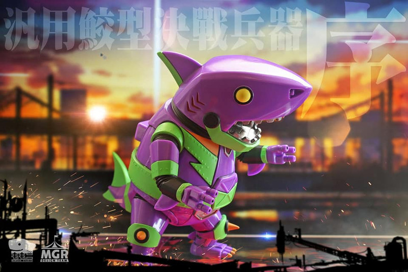Ironclad Shark ZYO by Momoco