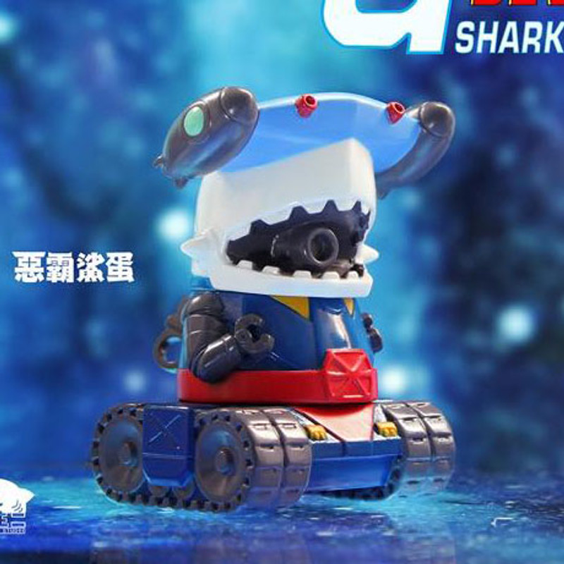 Mecha Tank Shark Jr. by Momoco