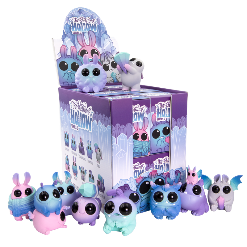 Thimblestump Hollow Series 3  Galaxy Unicorn Edition Blind Box by Chris Ryniak and Amanda Louise Spayd