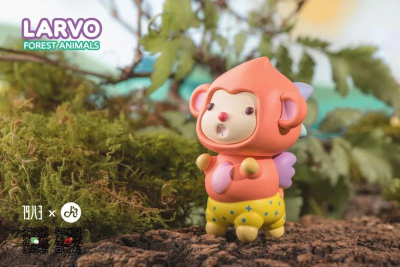 Larvo Forest Animals Mini Series by Playgrounders Blind Box