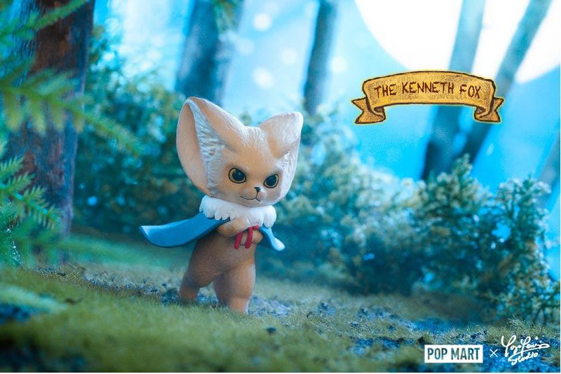 The Kenneth Fox Mini Series Blind Box by Yoyo Yeung