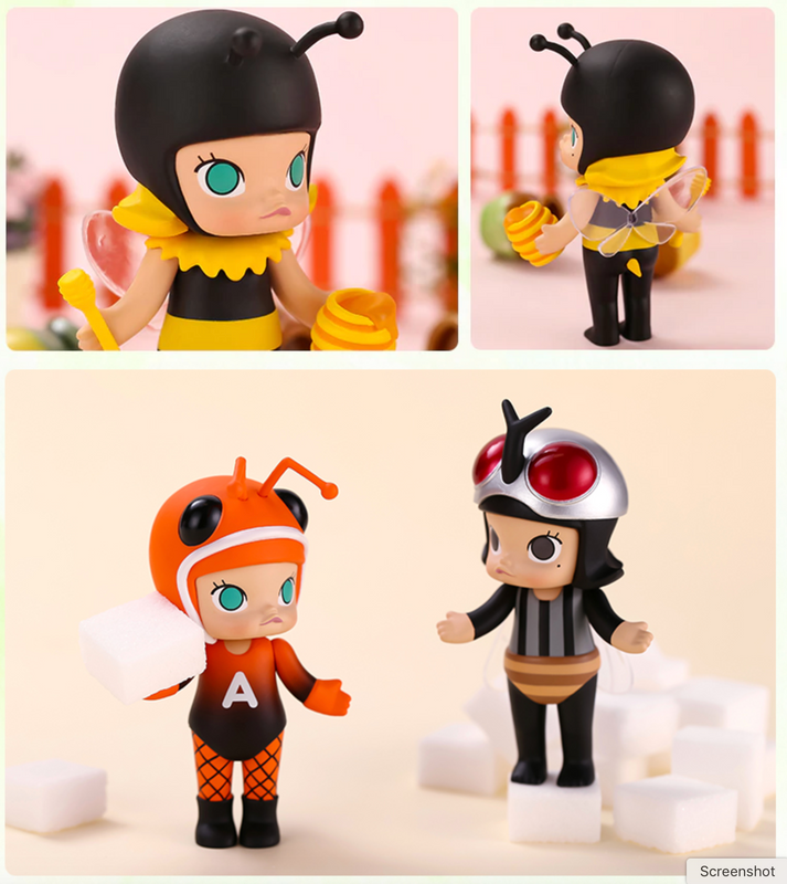 Molly Bugs Mini Series Blind Box by Kenny Wong