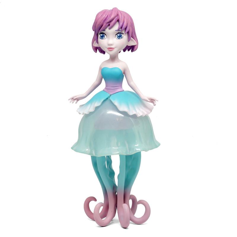 Ellie The Jellyfish Princess Teal By MJ Hsu