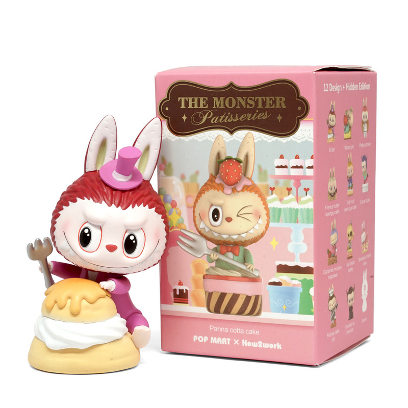 The Monster Patisseries Labubu Mini Series Blind Box by Kasing Lung