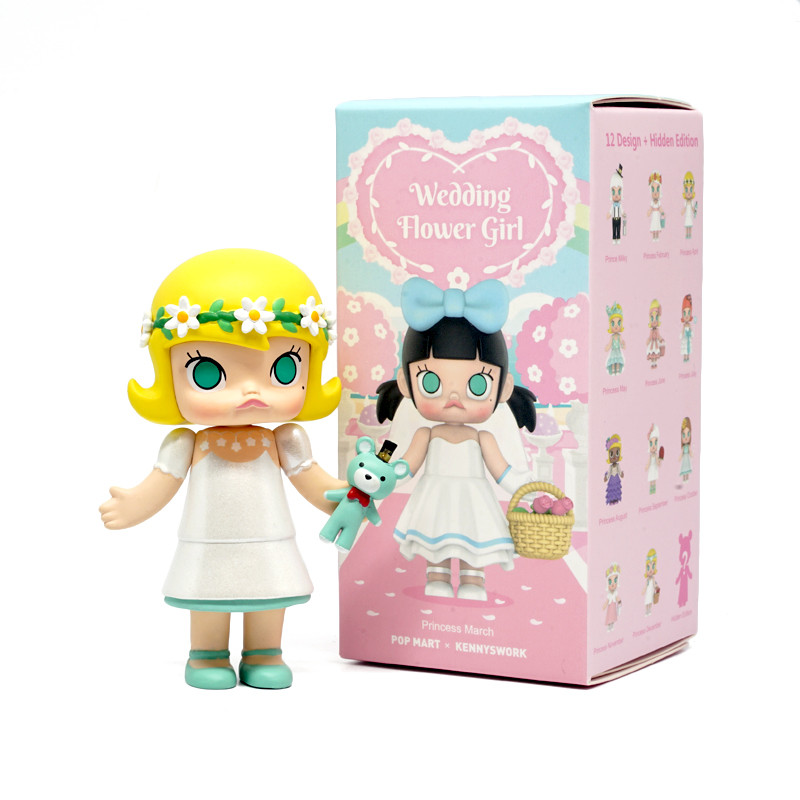 Molly Wedding Flower Girl Mini Series Blind Box by Kenny Wong