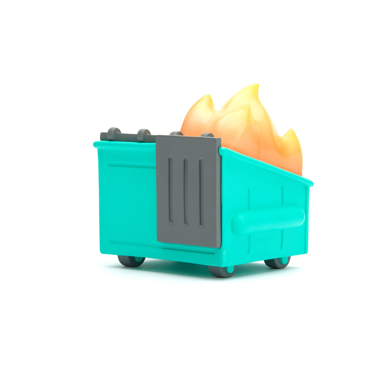 Dumpster Fire Vinyl Figure PRE-ORDER SHIPS MAY 2020
