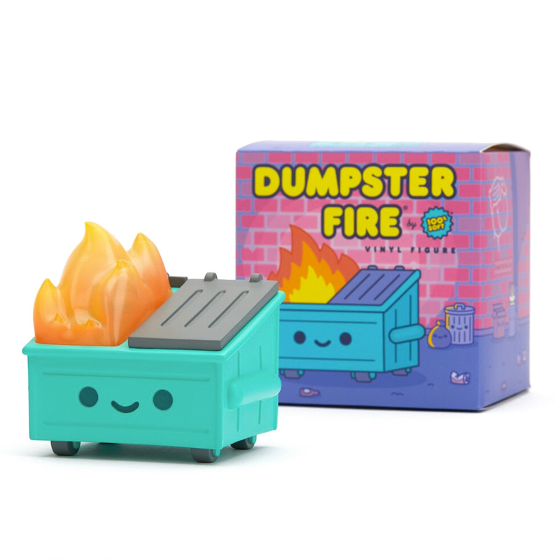 Dumpster Fire Vinyl Figure PRE-ORDER SHIPS APR 2021