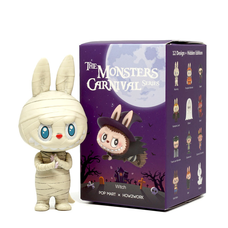 The Monster Carnival Labubu Mini Series Blind Box by Kasing Lung