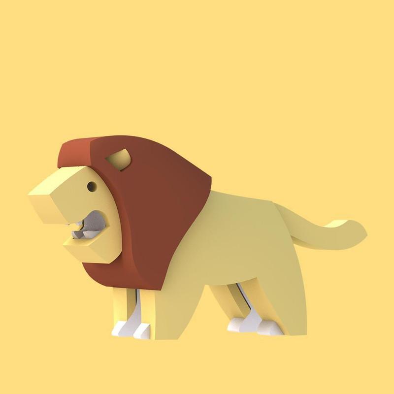 Halftoys Lion