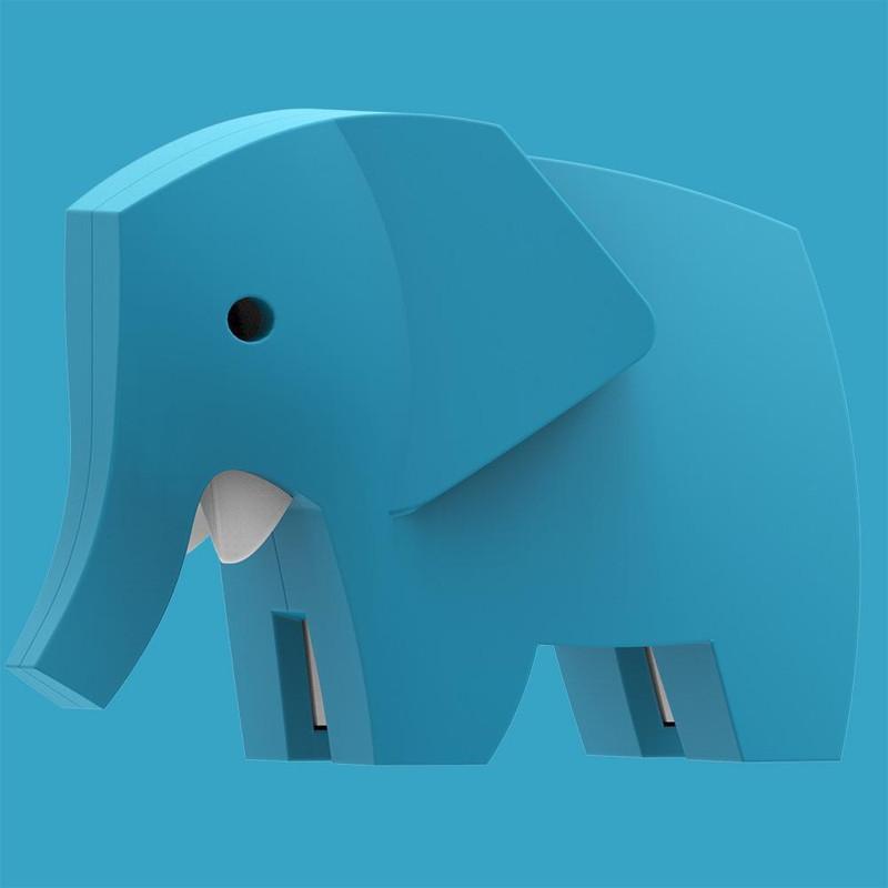 Halftoys Elephant