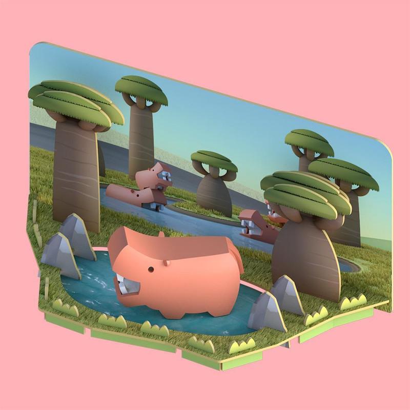Halftoys Hippo