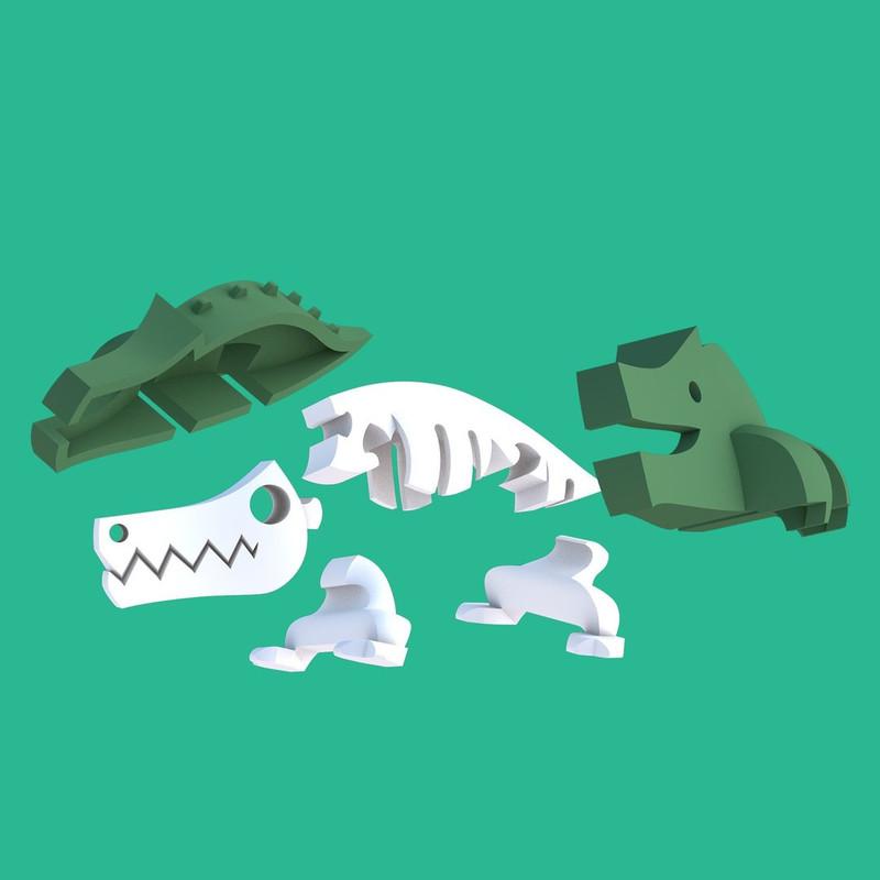 Halftoys Crocodile