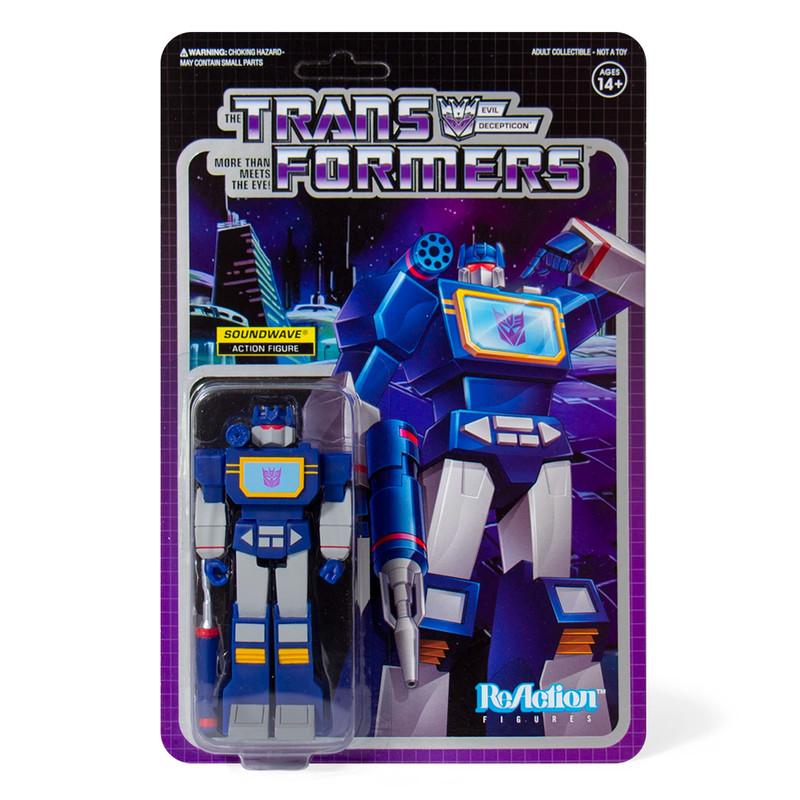 ReAction Transformers Soundwave