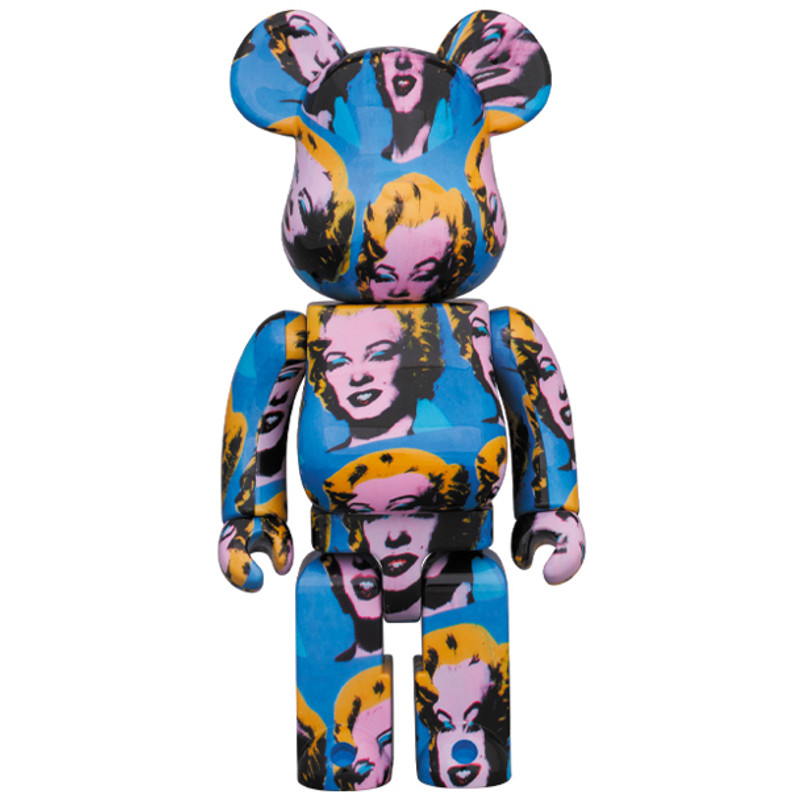 Be@rbrick 400% and 100% : Andy Warhol Marilyn Monroe PRE-ORDER SHIPS JULY 2020