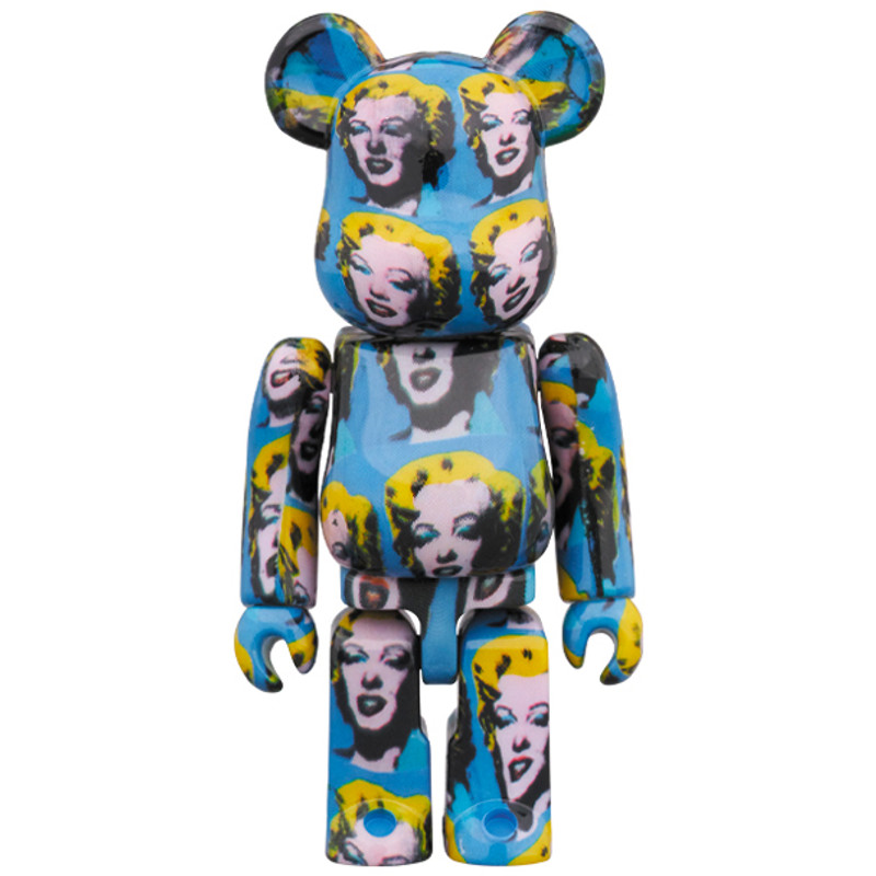 Be@rbrick 400% and 100% : Andy Warhol Marilyn Monroe PRE-ORDER SHIPS TBD