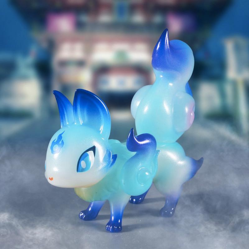 The Phantom Fox Blue Flame by Genkosha