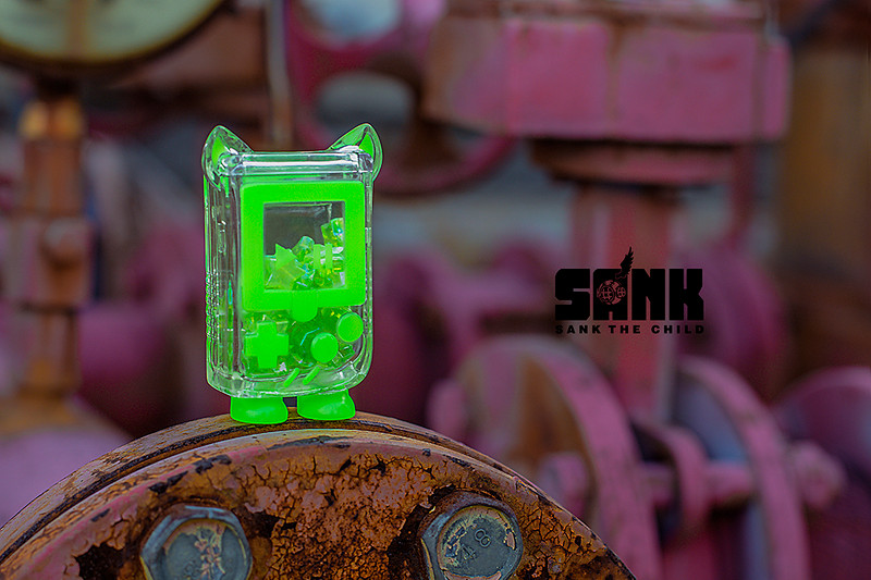 GameCat Neon Green by Sank Toys