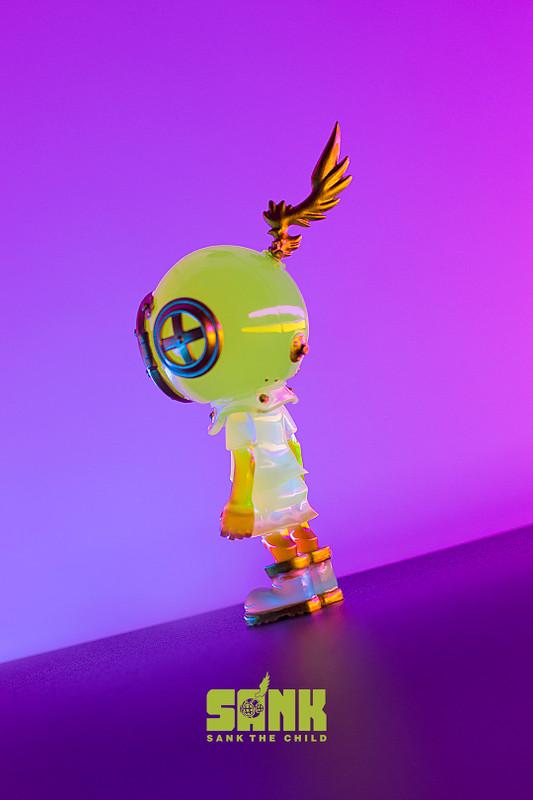 Little Sank Spectrum Neon Green by Sank Toys