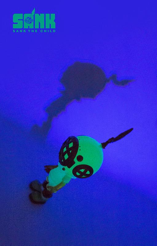 Little Sank Spectrum Neon Green by Sank Toys PRE-ORDER SHIPS APR 2020