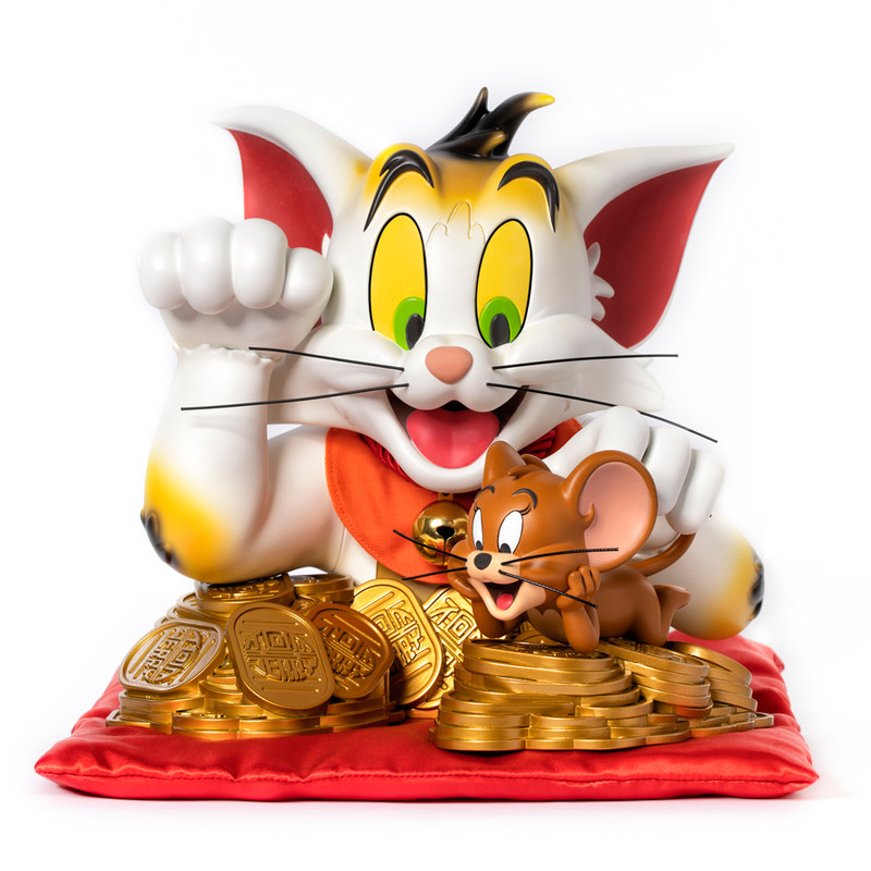Tom and Jerry Lucky Cat PRE-ORDER SHIPS MAR 2020
